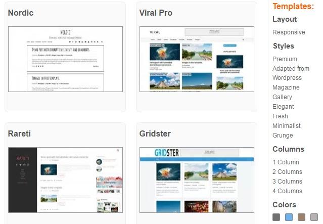 plantillas para blogger gratis en español responsive - NeytorTec ...