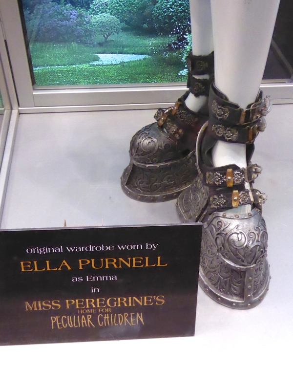 Emma costume boots Miss Peregrines Home for Peculiar Children