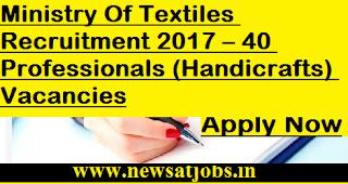 Ministry-Of-Textiles-jobs-40-Professionals-Vacancies