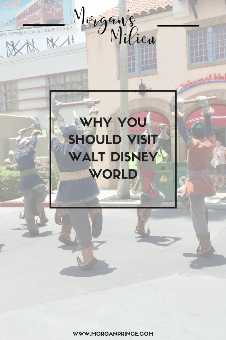 Why you should visit Walt Disney World - from entertainment to theme parks.