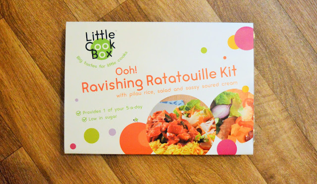 Ratatouille box kit for kids.