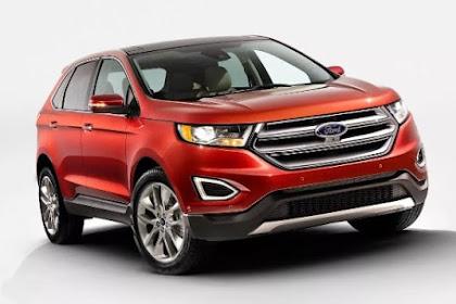 2017 Ford Edge Titanium Configurations
