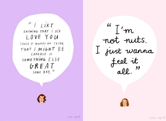 The Glam Donuts:  I'm an individual and I feel how I feel when I feel it.