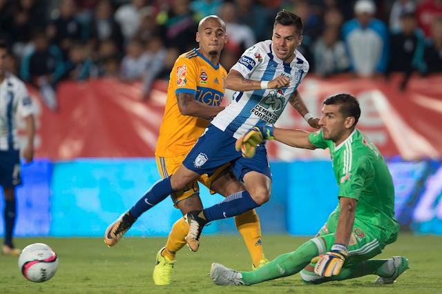 Pachuca ganó 2-1 a Tigres