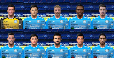 PES 6 Facepack Club Atlético Belgrano 2018/2019 by Cuervo96
