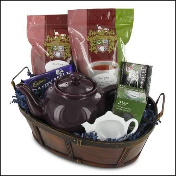 cesta de chá ou café