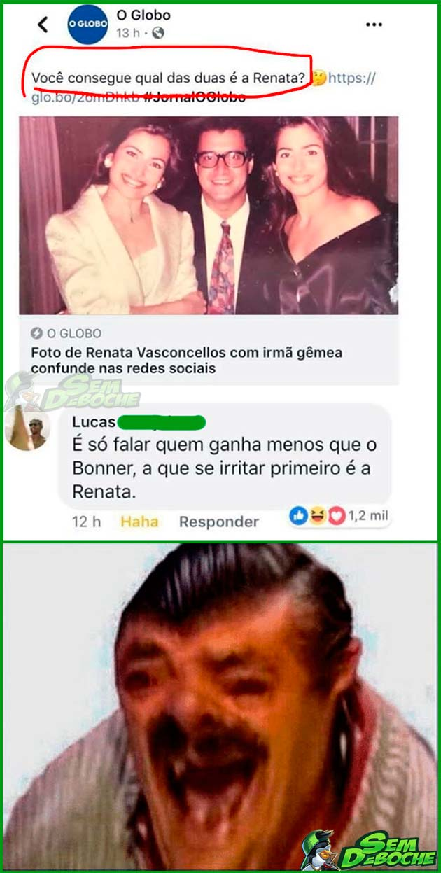 ÚNICA MANEIRA DE SABER QUAL A RENATA VERDADEIRA