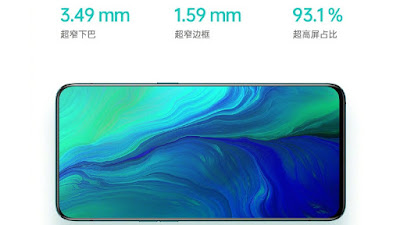 Oppo Reno Phone Display