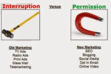 DiGiTaL GuRu: Interruption Marketing Vs. Permission Marketing