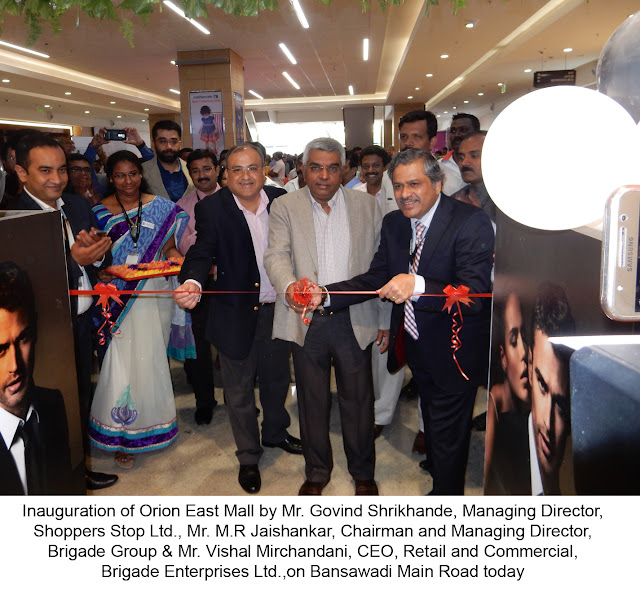 Orion East Mall Opens- All set to Redefine Neighbourhood Shopping Centres in the country - Brigade Group Bangalore