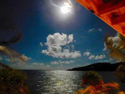 thanksgiving, moon, #payabay, #payabayresort, beauty, magic of paya, paya at night, paya bay resort,