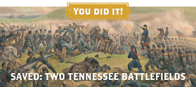 Update: Victory at Two Tennessee Civil War Battlefields!