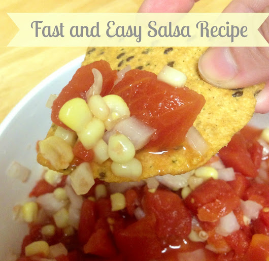 Girl in the Poodle Shoes: Fast and Easy Salsa Recipe