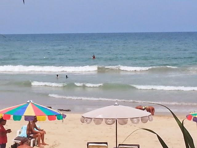 Surfing in Phuket - Kata Beach