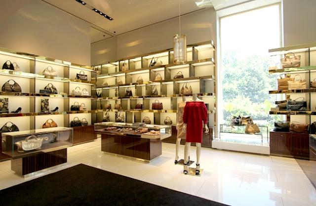 Como são as lojas Gucci em Miami e Orlando