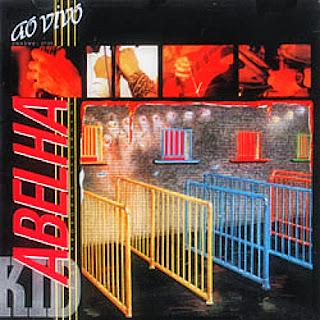"""Capa do disco """"Ao Vivo"""", lançado em 1986 pelo grupo Kid Abelha"""