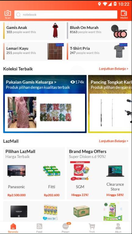 Mencari Promo Ramadhan Melalui Kolom Pencarian Lazada.