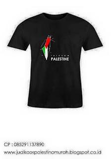 Jual Kaos Palestina Murah