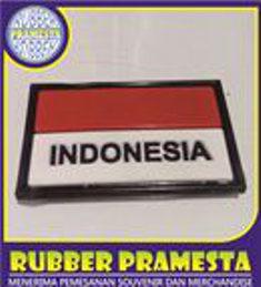 PATCH RUBBER INDONESIA   PATCH RUBBER BENDERA MERAH PUTIH   PATCH RUBBER MERAH PUTIH