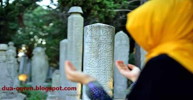 mezarlıga girerken okunacak dua
