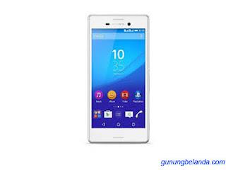 Cara Flash Sony Xperia M4 Aqua Dual E2312