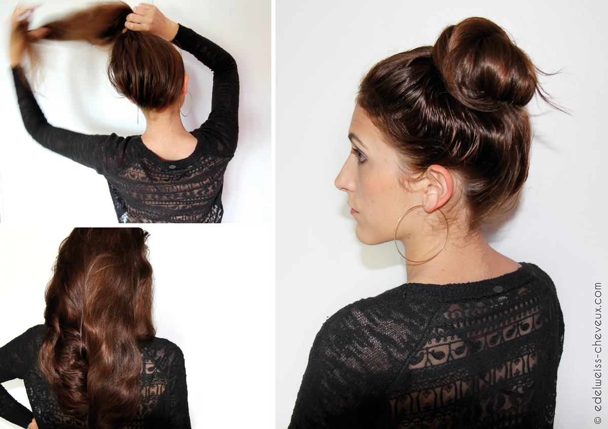 Coiffure Chignon Facile Video Journal Capillaire D 39edelweiss 1 Jour 1 Coiffure