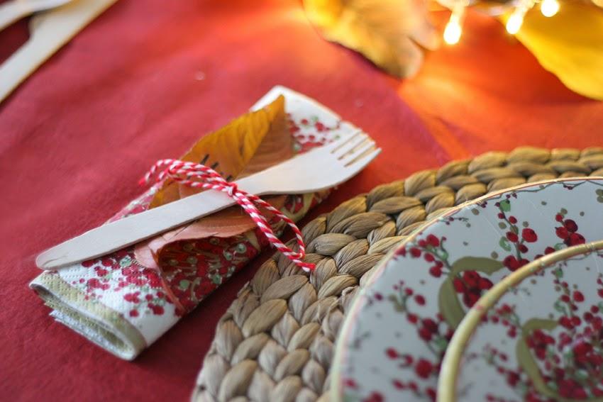 Mesa navideña de cartón con Elegance Party - Decorar en familia5