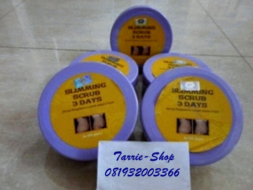 Slimming Scrub 3 Days Best Seller