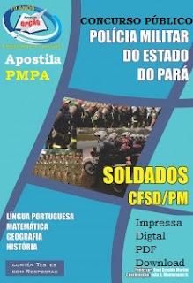 Apostila Concurso Público Polícia Militar - PA - Soldado PM 2015-2016.
