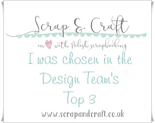 Topp 3 hos Scrap and Craft!