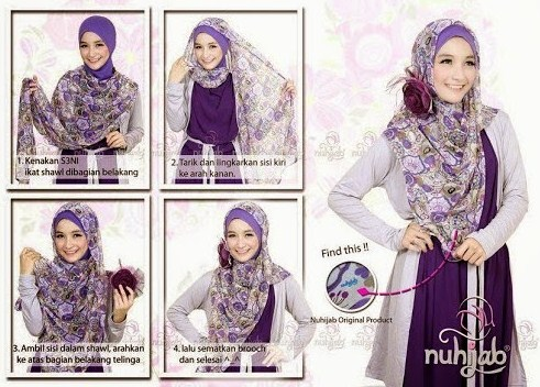 Style Hijab Modern Casual Dengan Cara Memakai Hijab Ke Kampus Yang Gak Bikin Ribet
