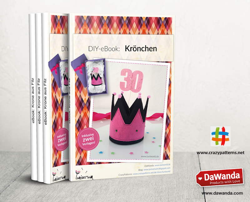 DIY-eBook: Krone aus Filz