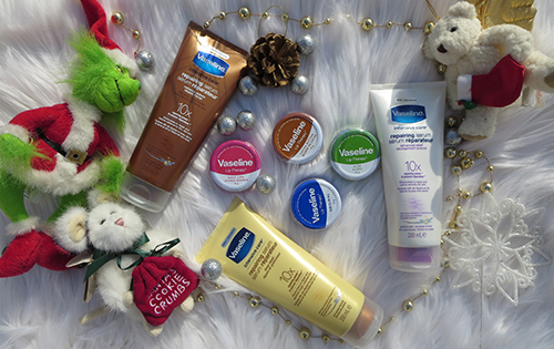 Vaseline Intensive Care Repairing Serums & Lip Therapy Tins are great Stocking Stuffers