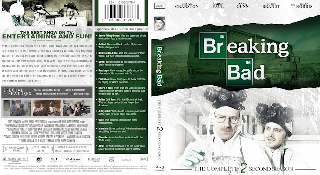 Breaking Bad Season 2 Bluray Cover