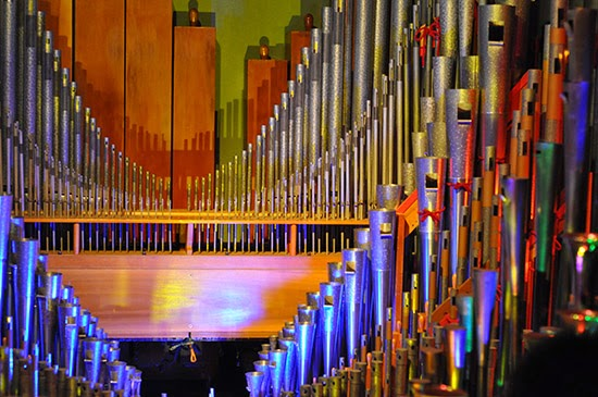 Nethercutt Collection organ pipes