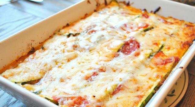 Weight Watchers Zucchini Lasagna Recipe with 9 smart points