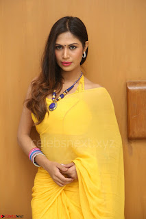 Nishigandha in Yellow backless Strapless Choli and Half Saree Spicy Pics 168.JPG