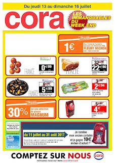 Catalogue Cora 13 au 16 Juillet 2017