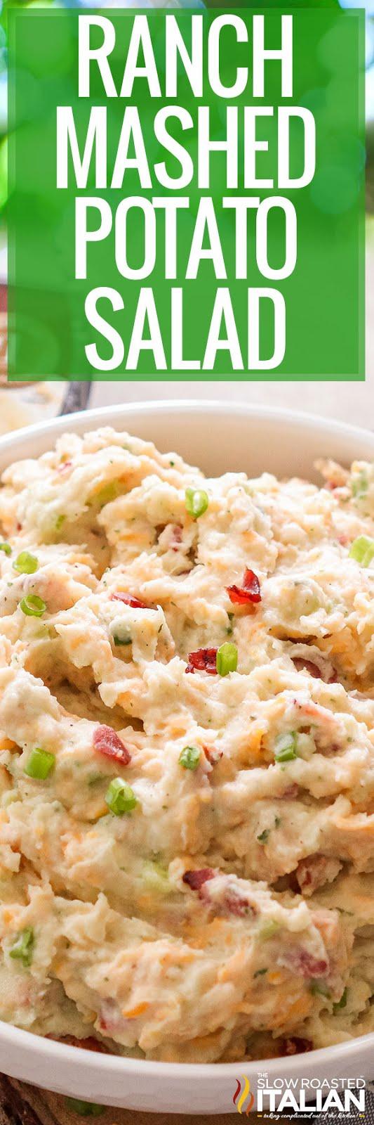 Ranch Mashed Potato Salad