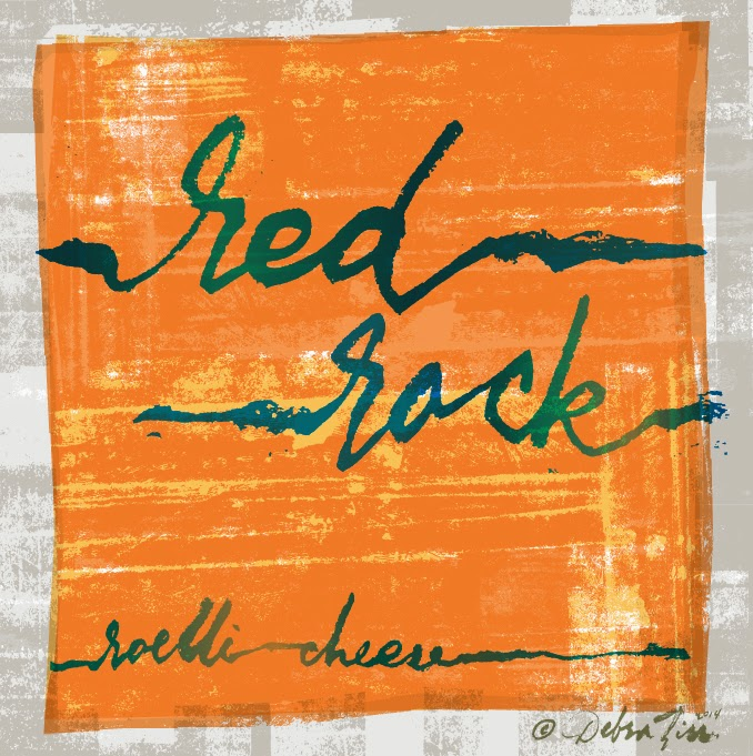 Debra Ziss Saxelby Cheese Doodle No11 Red Rock