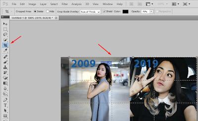 Cara Membuat Foto 10 Years Challange di Android dan Laptop dengan Mudah