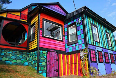Rainbow House, Brooklyn, USA