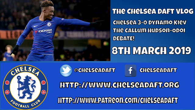 Chelsea 3-0 Dynamo Kiev | The Callum Hudson-Odoi Debate