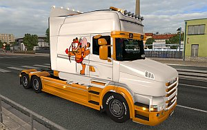 Garfield Scania T skin