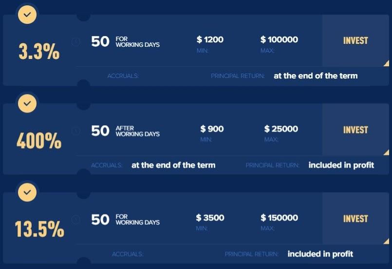 Инвестиционные планы BitStil 3