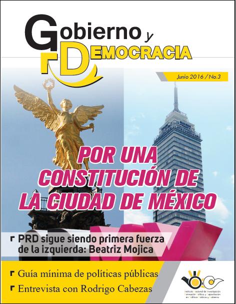 Revista Gobierno y Democracia número tres