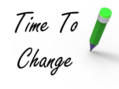 Tempo de mudar
