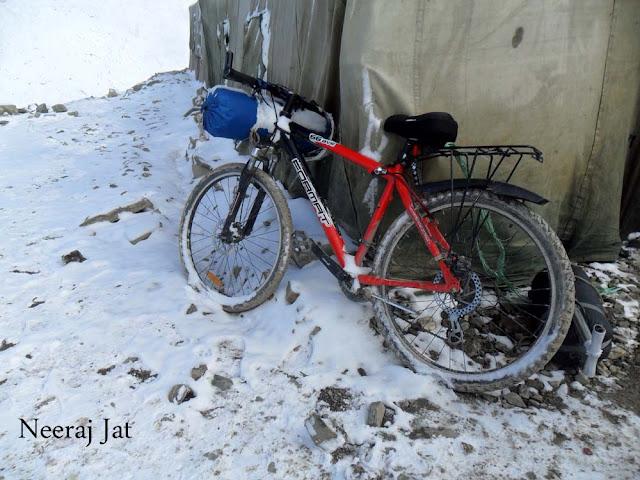 लद्दाख साइकिल यात्रा- तेरहवां दिन- तंगलंग-ला से उप्शी
