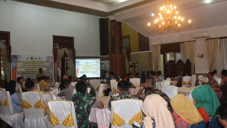 Lindungi Pekerja Migran Indonesia, Kasdim 0703/Cilacap Ikuti Rakor Kerjasama Keimigrasian