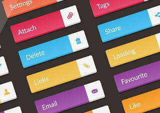 Button design principles for creating attractive websites